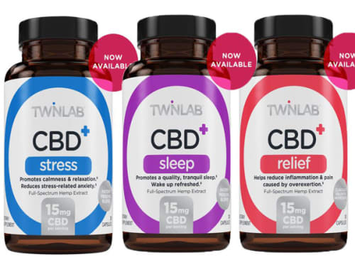 Twinlab Inc CBD + Supplements for $17 + $1.49 s&h