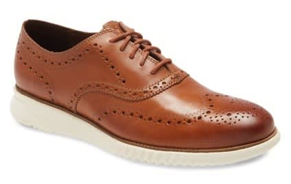 Cole Haan Men's 2.Zerogrand Wingtip Oxford Shoes for $82 + free shipping
