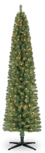 Ashland Creative Collection Ashland 7-Foot Pre-Lit Artificial Christmas Tree for $50 + pickup