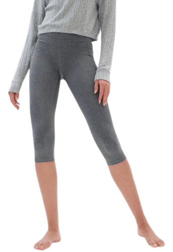 Aeropostale Women's Best Booty Ever Heathered Cropped Leggings for $8 + free shipping w/ $50