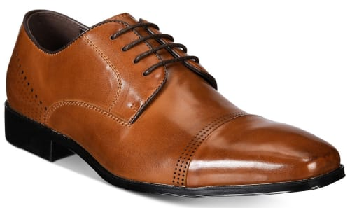 Unlisted by Kenneth Cole Men's Lesson Plan Oxfords for $24 + free shipping w/ $25