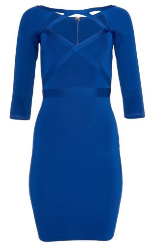Venus Women's Bandage Cut Out Dress for $30 + free shipping w/ $75