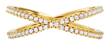 Michael Kors Precious Metal-Plated Pave Nesting Ring for $29 + free shipping
