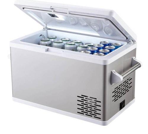 Aspenora 12V 37-Quart Portable Fridge Freezer for $180 + free shipping