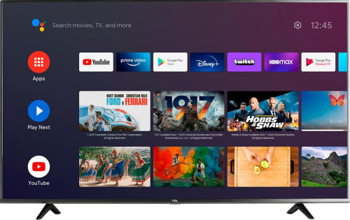 TCL Class 4 Series LED 4k UHD Smart Android TV for $500 + pickup