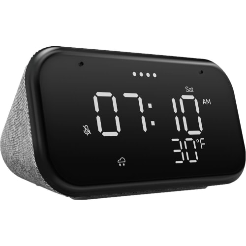 Refurb Lenovo Smart Clock Essential for $21 in cart + free shipping