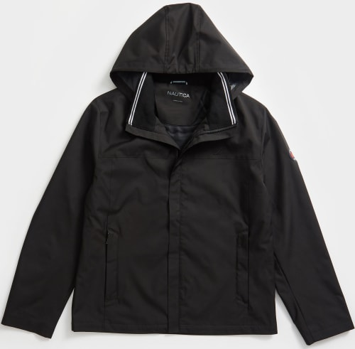Nautica Men's Hooded Bomber Jacket for $45 + free shipping w/ $50