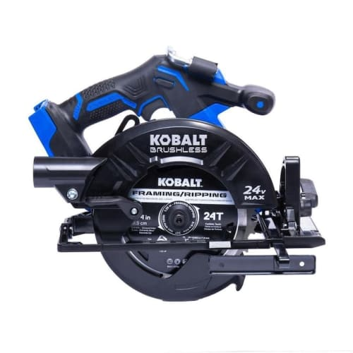 Kobalt XTR 24V Cordless Circular Saw w/ Brake for $109 + free shipping