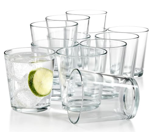 Martha Stewart Glassware Sets at Macy's from $15 + free shipping w/ $25