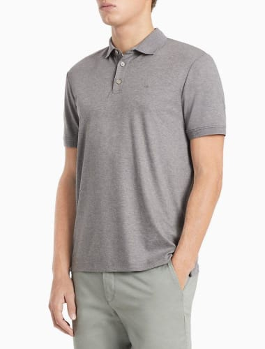 Calvin Klein Men's Liquid Touch Polo for $18 + $5.95 s&h