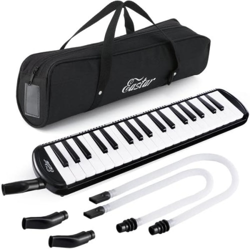Eastar 37-Key Melodica Keyboard w/ Mouthpiece for $24 + free shipping