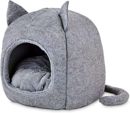 Harmony Fellow Feline Hooded Igloo Cat Bed for $17 + pickup