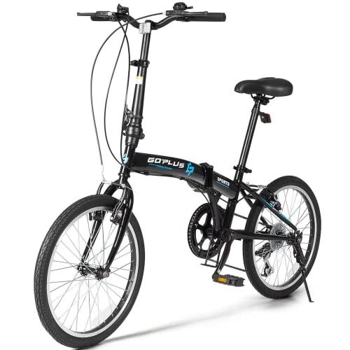 "GoPlus 20"" 7-Speed Folding Bike for $220 + free shipping"