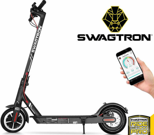 Used Swagtron Swagger 5 Foldable Electric Scooter for $187 in cart + free shipping