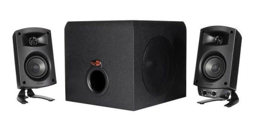 Klipsch ProMedia 2.1-Channel THX Computer Speakers for $100 for members + free shipping