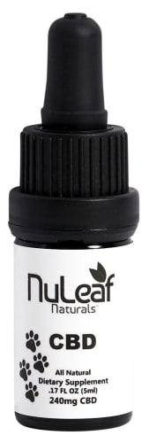 NuLeaf Naturals Pet CBD Oil for $23 + free shipping w/ $49