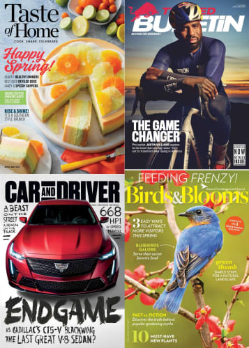 DiscountMags Spring Magazine Sale: Up to 95% off