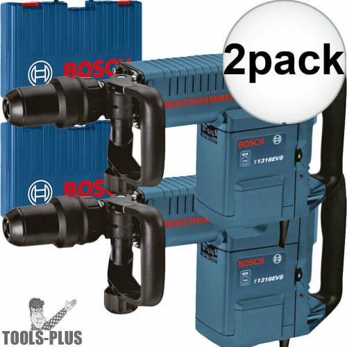Refurb Bosch 14A Demolition Hammer w/ Case for $879 for 2 + free shipping