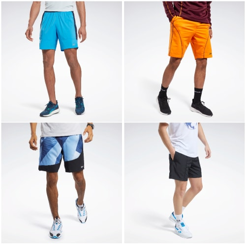 Reebok Men's Shorts from $10 + free shipping