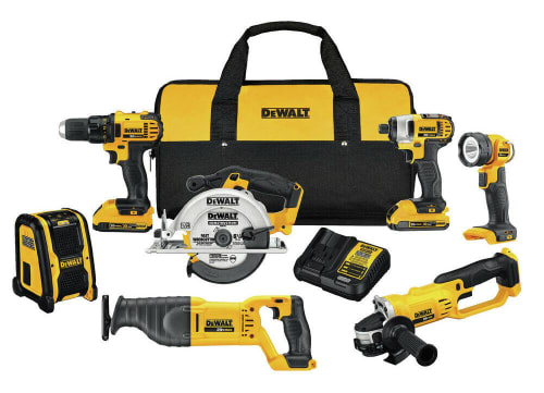 Refurb DeWalt 20V Max Compact 7-Tool Combo Kit for $382 + free shipping