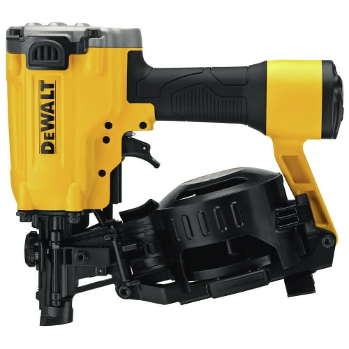 """Certified Refurb DeWalt 15° 1.75"""" Pneumatic Coil Roofing Nailer for $156 + free shipping"""