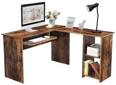 Vasagle Large L-Shaped Computer Desk for $99 + free shipping