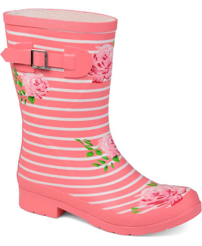 Journee Collection Women's Seattle Rain Boots for $28 + free shipping