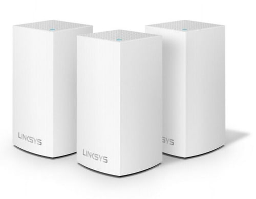Certified Refurb Linksys Velop AC3900 Dual-Band Intelligent Mesh WiFi System 3-Pack for $85 + free shipping