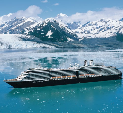 Holland America Line 7-Night Alaska Cruise in April '22 from $1,298 for 2