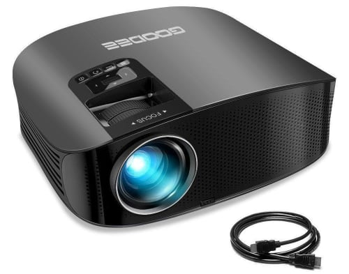 Goodee LCD Home Theater Projector for $100 + free shipping
