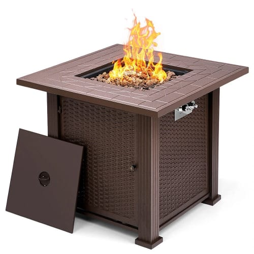 """Topshak 28"""" Fire Pit for $150 + free shipping"""