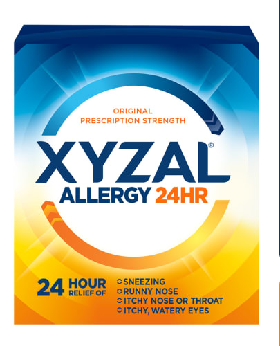 Xyzal Allergy 24HR: free sample