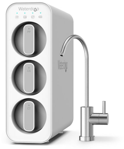 Waterdrop Undersink Dual Carbon Filtration System for $102 + free shipping