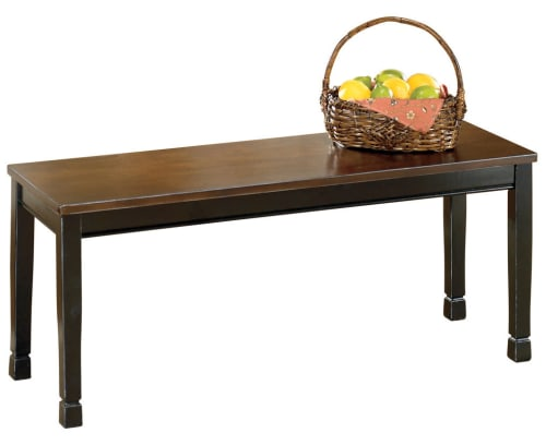 Ashley Furniture Owingsville Dining Bench for $63 + free shipping