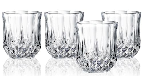 Longchamp Cristal D'Arques Crystal Glass 4-Piece Sets for $13 + free shipping w/ $25
