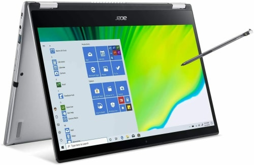 "Acer Spin 3 Ice Lake i5 14"" 1080p Touch Laptop w/ 512GB SSD & Active Stylus Pen for $649 + free shipping"