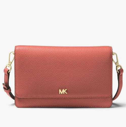 Michael Kors Pebbled Leather Convertible Crossbody Bag for $58 + free shipping