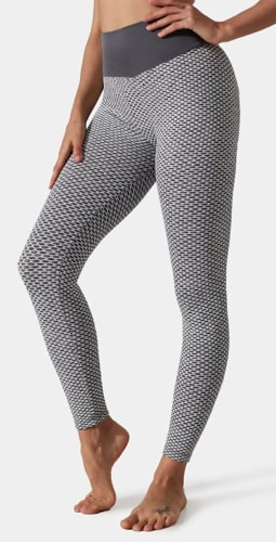 Women's High-Waist Butt-Lifting Tummy Control Leggings: 4 for $16 in cart + free shipping