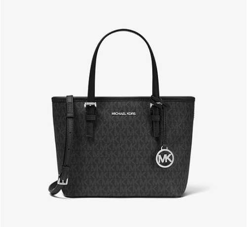 Michael Michael Kors Jet Set Travel Extra-Small Logo Top-Zip Tote Bag for $79 + free shipping