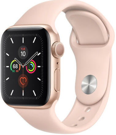 Apple Watch Series 5 44mm GPS Sport Smartwatch for $315 + free shipping