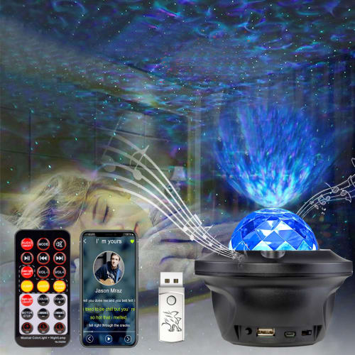 Hexup LED Projector Lights for $23 + free shipping