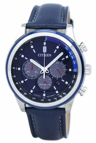 Refurb Citizen Men's Eco-Drive 43mm Chronograph Watch for $95 + free shipping