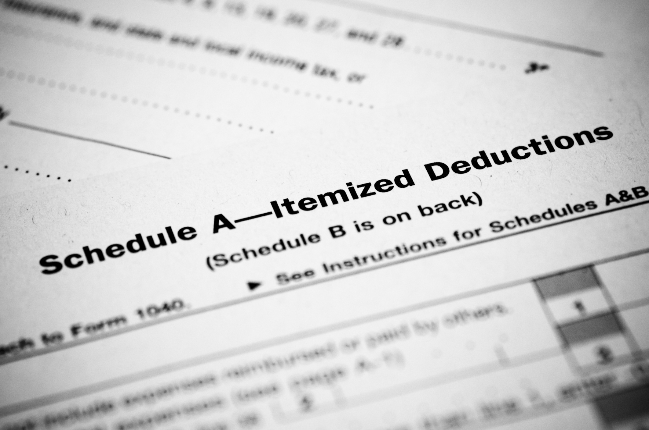 itemized deductions
