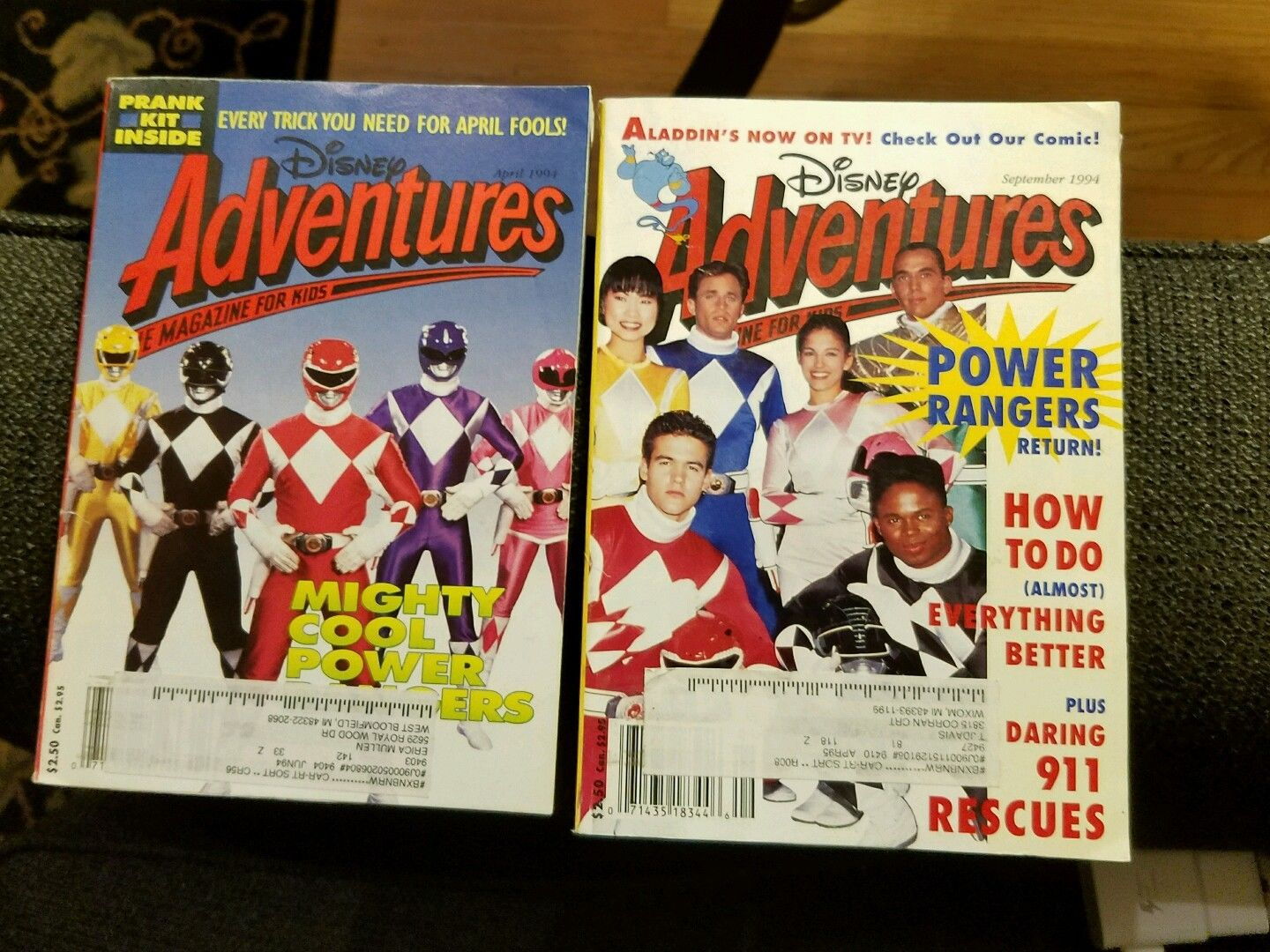 Disney Adventures magazines