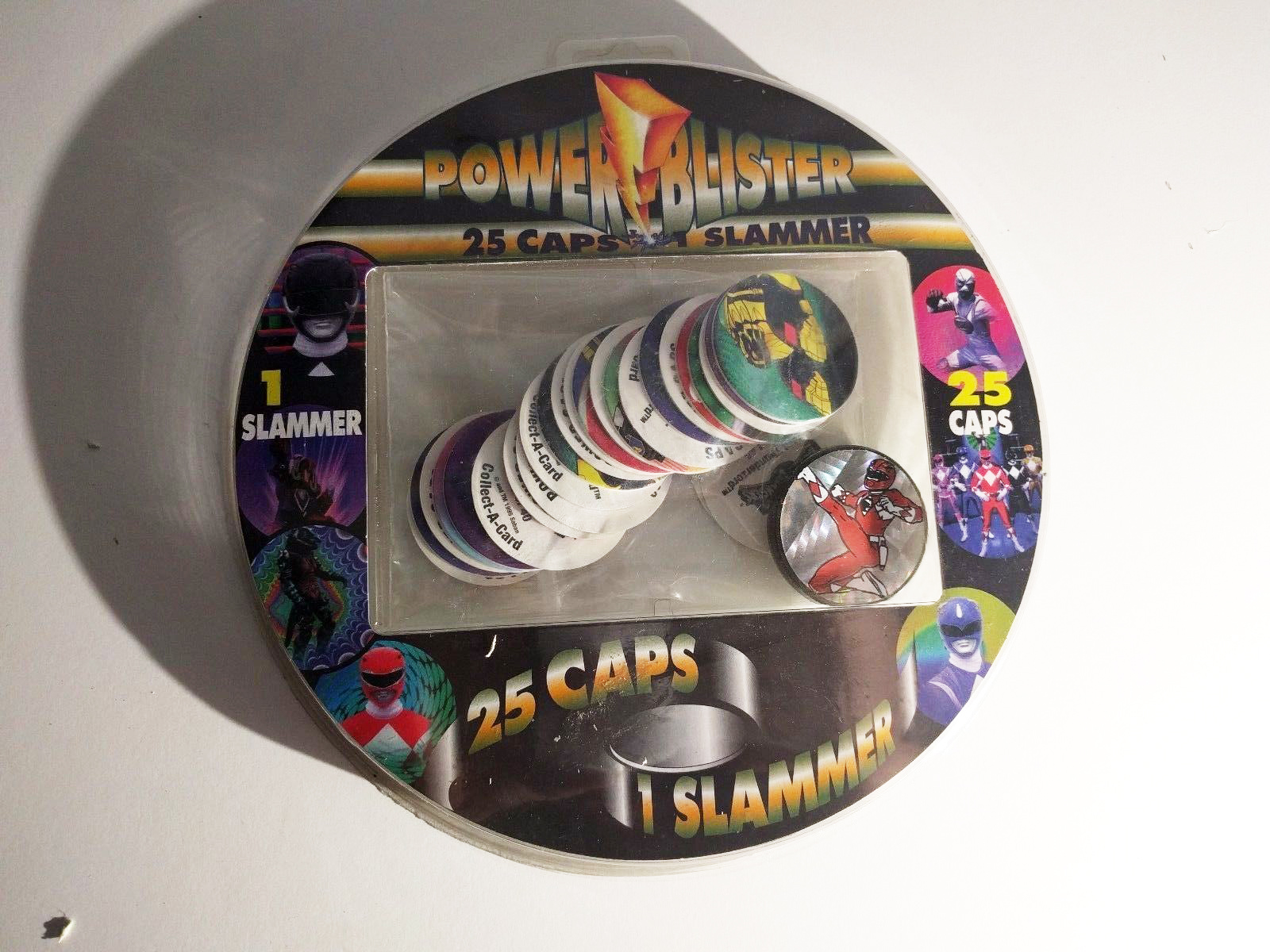 Power Rangers milk caps