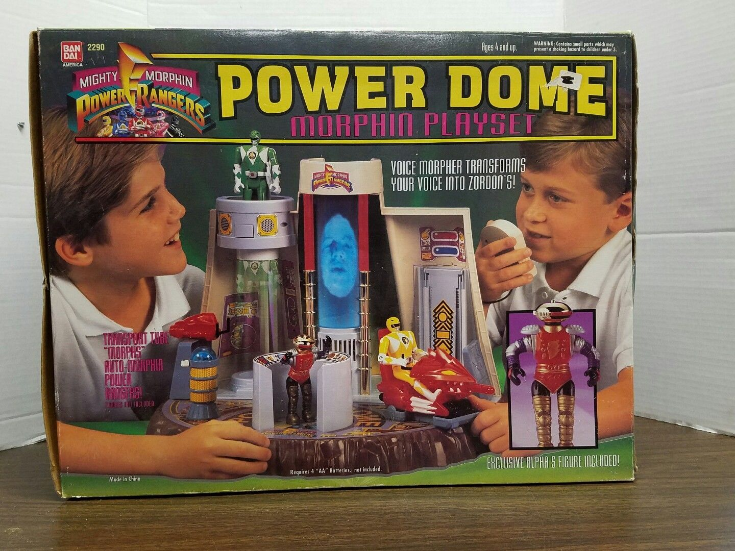 Power Rangers playset