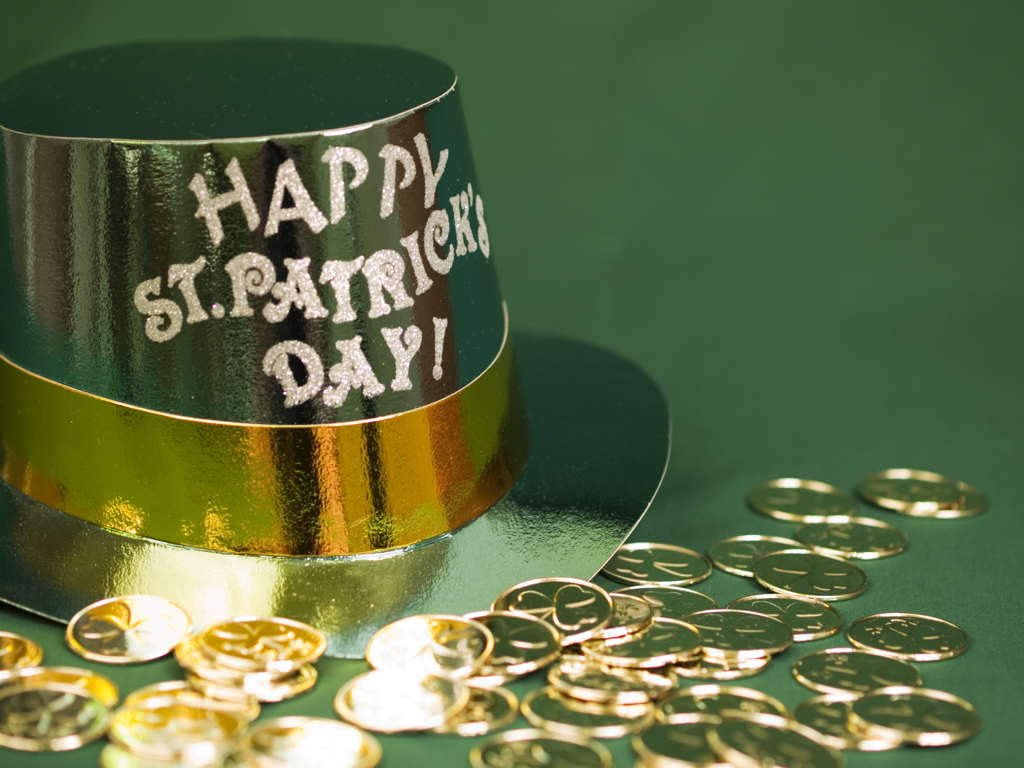 St. Patrick's Day items