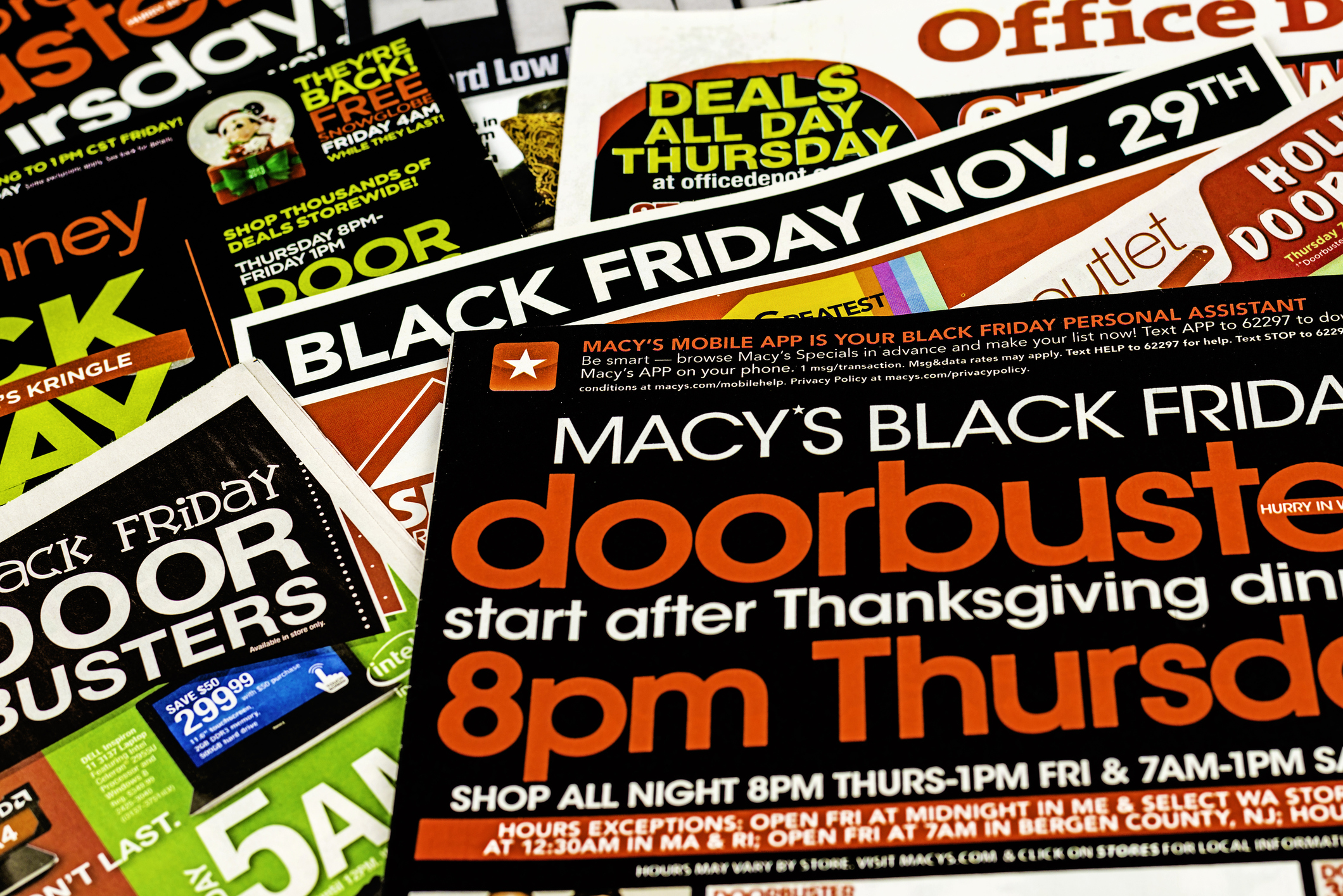 when to get black friday newspaper ads
