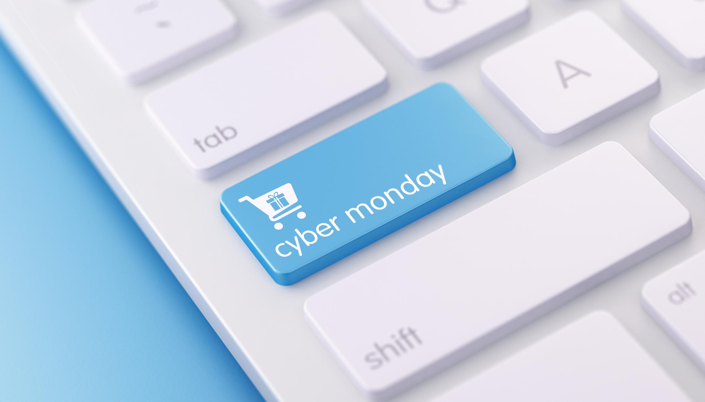 Cyber Monday Button