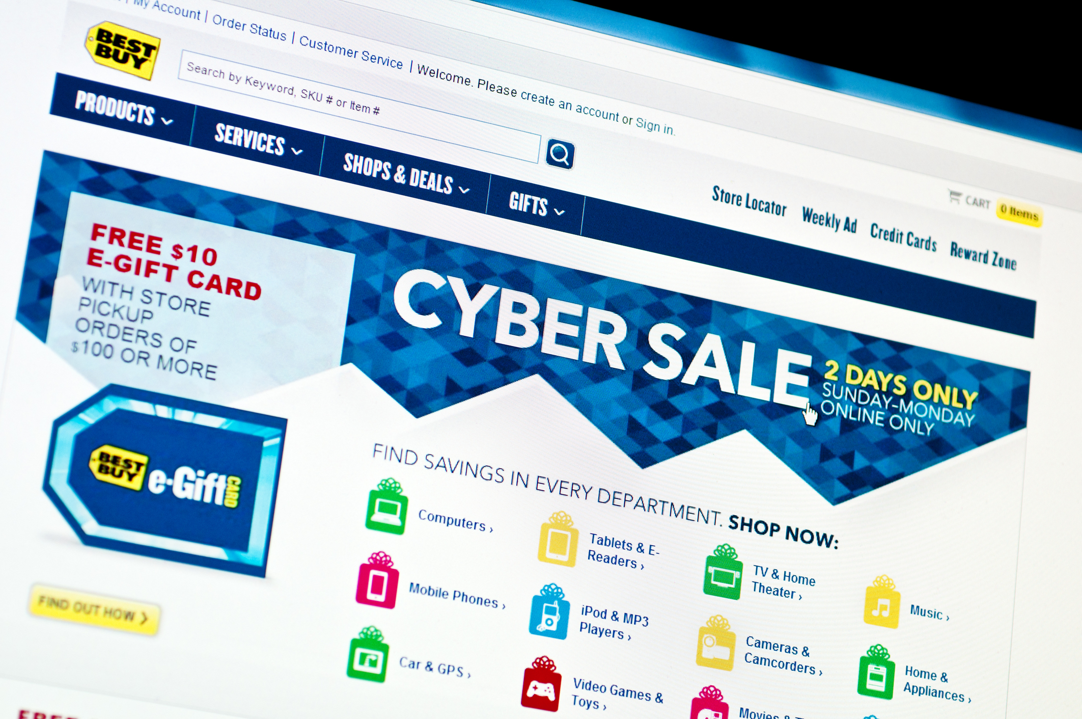 What to expect from best buy cyber monday sales in 2017 for Best websites to buy online